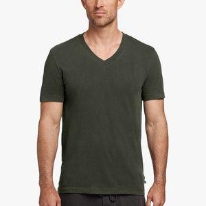 James Perse Men's Short Sleeve V-Neck